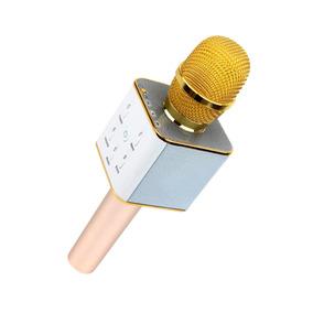 Microfono Karaoke Recargable Bocina Integrada Bluetooth