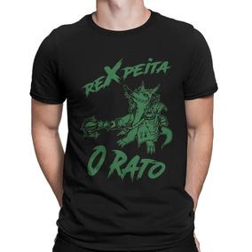 Camiseta Rexpeita O Rato Camisa Lol Brtt League Of Legends