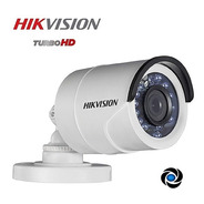 Camara Hikvision Cctv 720p 1mp Bullet Infrarroja Color Exterior Seguridad Gran Angular