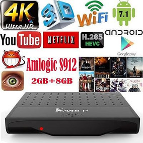 Km8p S912 Octa Core 2gb 8gb Android 7.1 Smart Tv Box...