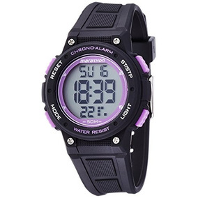Timex Mens Marathon Digital Indiglo Digital Casual Quartz Wa