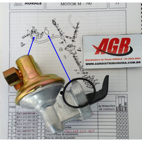 Peças Agrale, Bomba De Combustível Motor M790