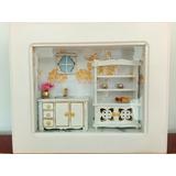 Quadro Miniatura De Cozinha (com Vidro)