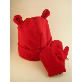 Luva Bebe - Roupas de Bebê Vermelho no Mercado Livre Brasil b16451bad74