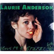 Laurie Anderson - United States Live - Box Set 4 Cds Lacrado