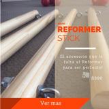 Reformer Stick Accesorio Para La Cama De Pilates. A $390 C/u