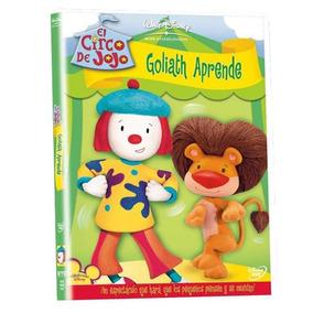 Dvd - Circo Jojo Goliath Aprendiendo