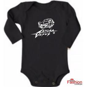 Body Bebê Rock Camisa De Vênus Manga Longa - 220