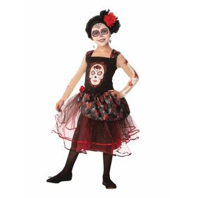 Disfraz Katrina Nina Disfraces Halloween Dia De Muertos