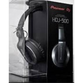 Audifonos Pioneer Hdj 500 Black