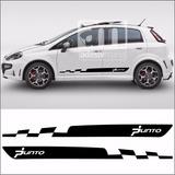 Adesivo Lateral Fiat Punto Sporting Kit Faixa Pun-18