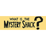 Gravity Falls - What Is The Mystery Shack? - Sticker