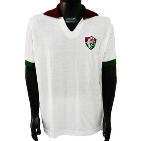 Camisa Retrô Fluminense 1987 Branca ( Manga Longa ) edea3652e68a8