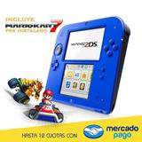Nintendo 2ds Con Mario Kart 7 Xuruguay
