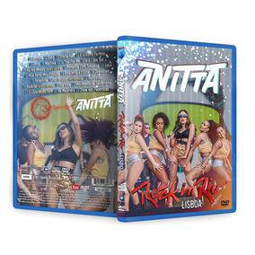Dvd Anitta Rock In Rio Lisboa 2018 Oficial + Extras, Clipes