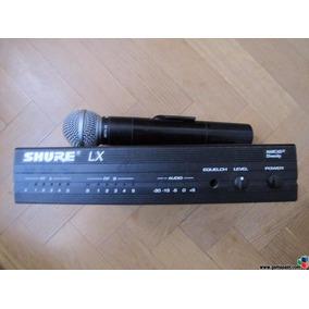Microfono Sm58 Y Receptor Shure Lx4