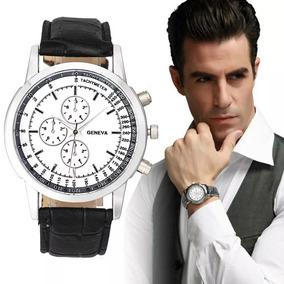 Relógio Masculino Social Aço Fino