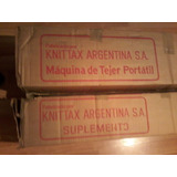 Knittax Automatic 3 En Caja+suplemento 200 Agujas, Impecable
