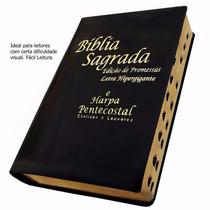 Bíblia Sagrada Edição Promessa Let.hipergigante Frete Grátis