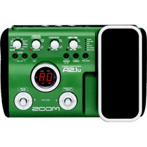 Pedaleira Zoom A2.1u A2 1u A2.1 P/ Violão +pedal+usb + Fonte