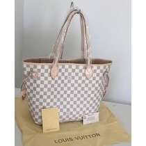 Louis Vuitton Neverfull Azur Bolsa