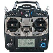 Futaba Rádio 10j Fhss Receptor Avião Helicóptero R3008sb