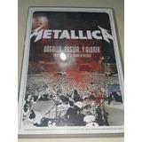 Dvd Metallica Orgullo Pasion Y Gloria 1 Solo Dvd En La Plata
