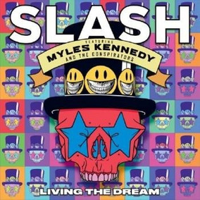 Cd Slash - Living The Dream - Nuevo En Stock