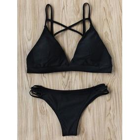 Trajes De Baño De Dama Bodysuit 2 Partes Playa Swimwear
