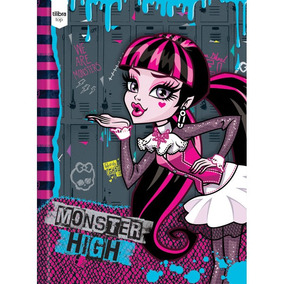 Caderno Brochurao Capa Dura Monster High 96fls. Tilibra C/5