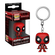 Funko Pop Pocket Keychain Marvel Deadpool X-men