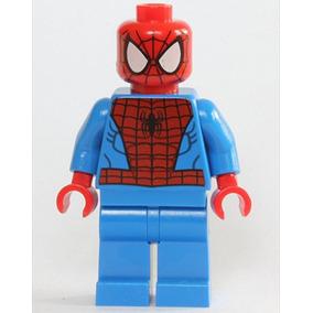 Lego Marvel Super Heroes Minfigure - Hombre Araña Negro Patr