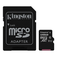 Memoria Kingston 128g Microsdxc Canvas Selec