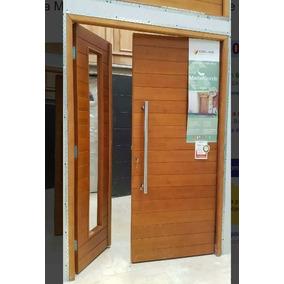 Puerta Y Media Madera Oblak 2331 + Lateral De Abrir! 140x200