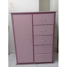 3c02c5e5a Ropero / Armario / Mini Closet Con Cajonera Para Niña