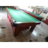 Mesas Pool Profesional 3/4 Instaladas A Todo El Pais