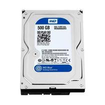 Hd Interno Wd Desktop 500gb Sata 3 16mb 7200rpm Wd Blue