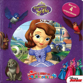 Mi Primer Libro De Rompecabezas: Princesita Sofía