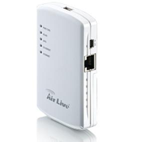 Roteador Wireless Portatil Air Live 3g Traveler Com Bateria