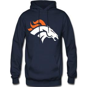 Sudadera Broncos De Denver Nfl Hoodie Capucha Con Cangurera