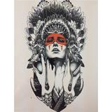 Frete Grátis Tatuagem Divertida Temporária Índia Nº 64