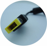 Cable Cargador De Lenovo Ibm Tipo Usb, Cuadrado Amarillo