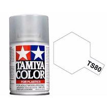 Tamiya 85080 Spray Lacquer Ts-80 Flat Clear 3 Oz
