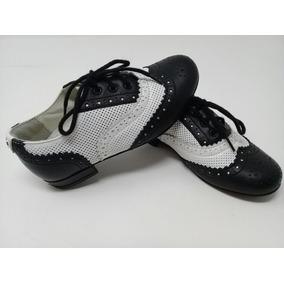 Zapato Piel Gucci Blanco Y Negro Niño. La Segunda Bazar 98a166348f0