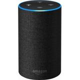 Amazon Echo 2nd Generation Color: Charcoal + Echo Dot