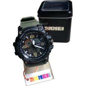 04455d0f819 Relogio Skmei Digital Masculino 1283 Militar Gshock C  Caixa