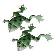 Isca Artificial Frog Sapinho Maruri 6 Cm 2 Unidades Verde