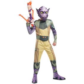 Disfraz Importado Para Niño De Zeb Orrelios Star Wars