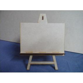 Atril Fibrofacil Para Foto 10x15 X 10 Unidades