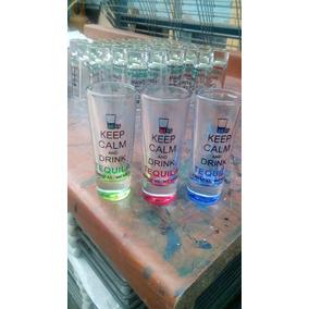 Vaso De Cristal Personalizado Con Fondo De Vitral